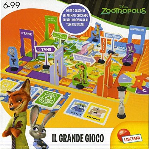 Lisciani Giochi 52974 - Zootropolis, il Grande Gioco, Multicolore
