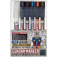 ガンダムマーカー流し込みスミ入れペン6本セット