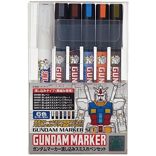 Gundam marker AMS122 Smiths pouring into pen