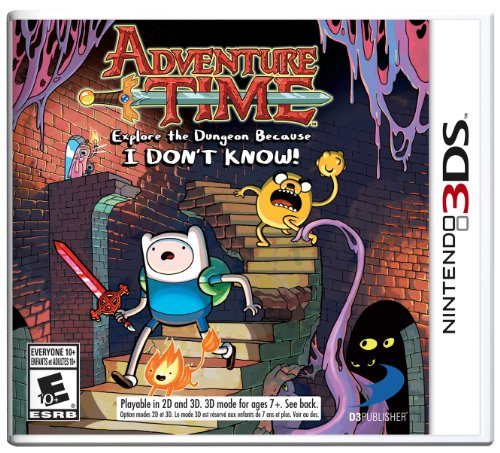 Adventure Time: Explore the Dungeon Because I DON'T KNOW! 3DS - 1