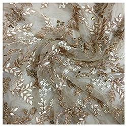 Inhika Women's Kurti Fabric (Inhika_203_Beige Brown)