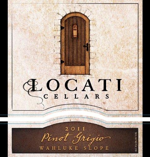 2011 Locati Cellars Wahluke Slope Pinot Grigio Ml