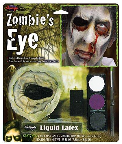 [Zombie's Eye Kit Without Eye] (Liquid Latex Zombie Costume)
