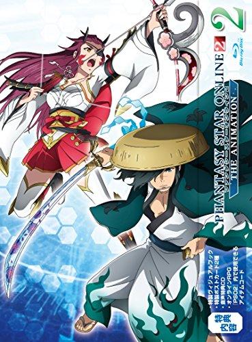 ファンタシースターオンライン2 ジ アニメーション 2 Blu-ray初回限定版