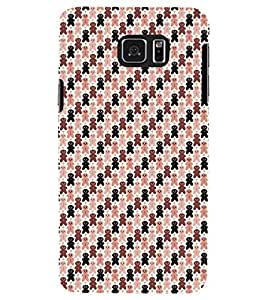 PRINTSWAG TEDDY PATTERN Designer Back Cover Case for SAMSUNG GALAXY NOTE 5 EDGE