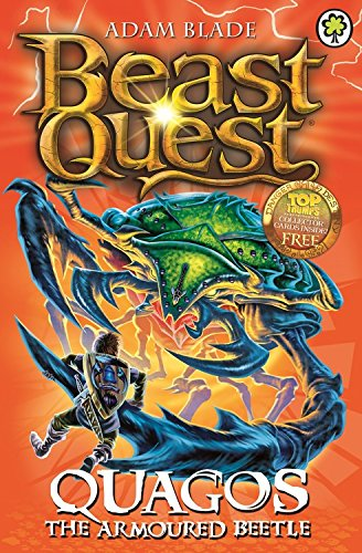 Beast Quest: 86: Quagos the Armoured Beetle (Beast Quest Series 4 compare prices)