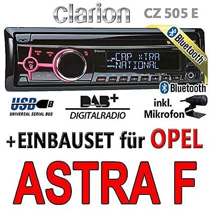Opel astra f-clarion cZ505E-bluetooth/dAB autoradio avec écran digital