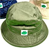 Boys Olive Bucket Hat, 6-9 Months