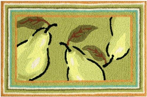 Jennifer Brinley Green Pears Area Rug