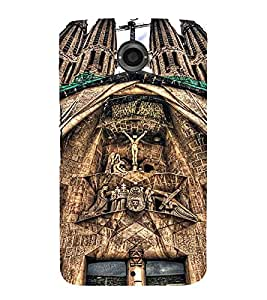 EPICCASE Beautiful churches Mobile Back Case Cover For Motorola Google Nexus 6 (Designer Case)