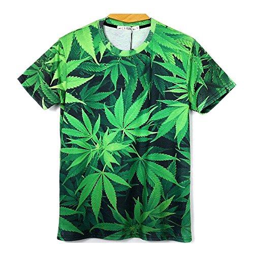 Marijuana Leaf Shirts Swagger Tee