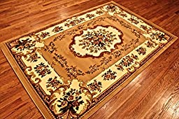 Summit #1 Area Rug Oriental Rug Floral Rug Many Sizes Available (8x10 actual is 7\'.4\'\'x10\'.6\'\')