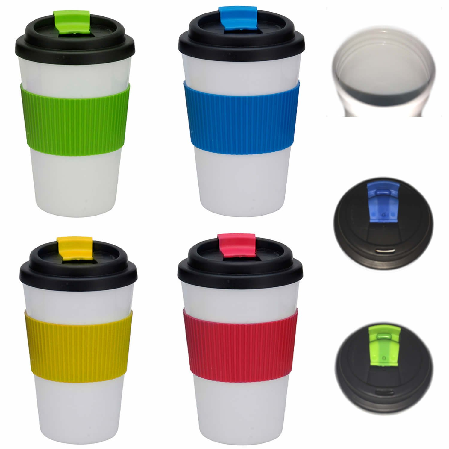 Coffee to go Becher Kunststoff Coffee to go Kaffe Tee Becher