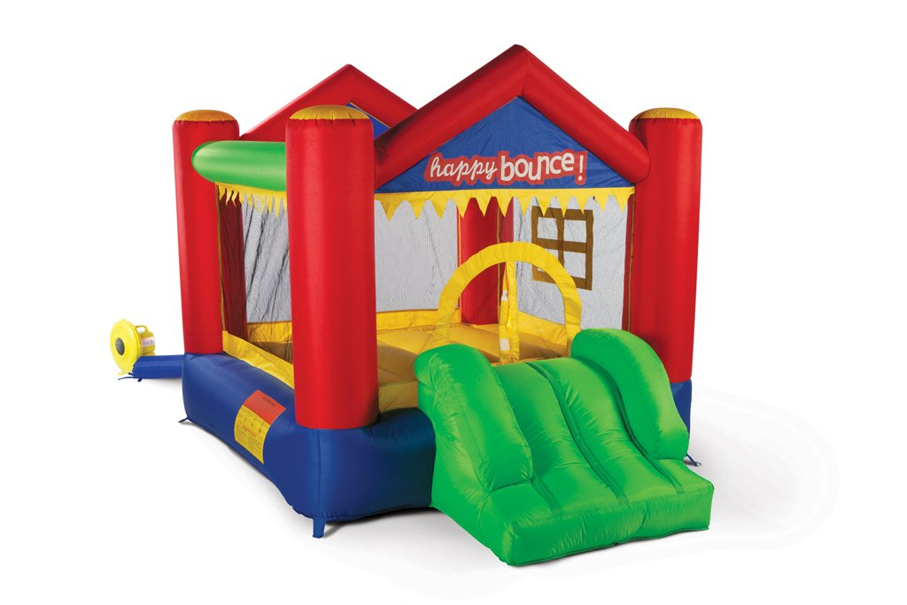 Avyna Hüpfburg Party House Fun 3in1 mit Rutsche und Basketballkorb (für bis zu 3 Kindern) jetzt bestellen