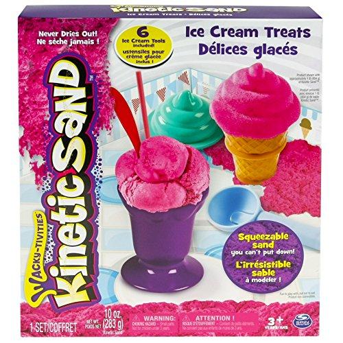 Kinetic Sand 6027986 - Kit Ice Cream, Multicolore