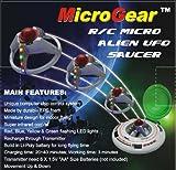 Microgear EC10184 Micro RC UFO Flying Saucer - Random Color