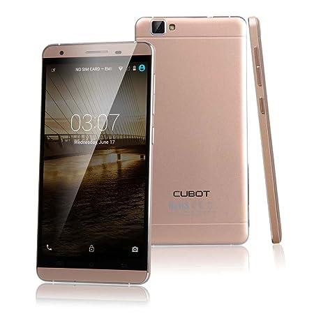CUBOT X15 5.5 pouces 2 Go de RAM MTK6735 1.3GHz 64 bits Quad-core 4G Smartphone (Or)