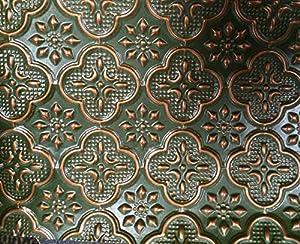 Amazon Com Faux Tin Wc 20 Patina Copper Decorative
