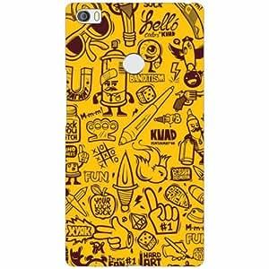 Printland Xiaomi Mi Max Back Cover High Quality Designer Case