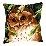 Vervaco Owl Cross Stitch Cushion