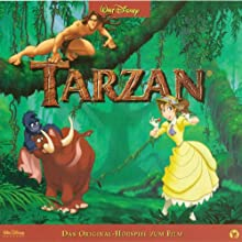Tarzan Hörspiel von Frank Lenart Gesprochen von: Anke Engelke, Heike Makatsch, Jaron Löwenberg
