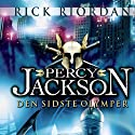 Percy Jackson 5 - Den sidste olymper (       UNABRIDGED) by Rick Riordan Narrated by Emil Rørbye