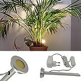 L&E®19009910 - LED Pflanzenlicht aus Aluminium mit...