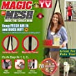 Magic Curtain Door Mesh Magnetic Fastening Hands Free Fly Bug Insect Screen