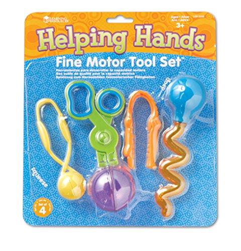 Learning Resources Helping Hands Fine Motor Tool Set [importato da UK]