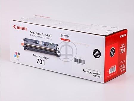 Canon I-Sensys MF 8180 c (701BK / 9287 A 003) - original - Toner black - 5.000 Pages
