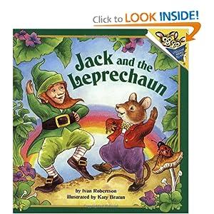 Jack and the Leprechaun (Pictureback(R)) Ivan Robertson and Katy Bratun