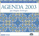 Agenda 2003 : Points de croix sur le thme du bleu