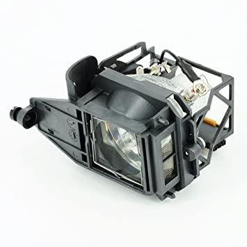 Projecteur haiwo TLPLP4de haute qualité Ampoule de projecteur de remplacement compatible avec boîtier pour Toshiba TDP LP70/P4.
