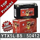 Moto piles 4Ah-yTX5L-bS