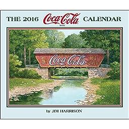 Coca-Cola Wall Calendar by Jim Harrison Prints