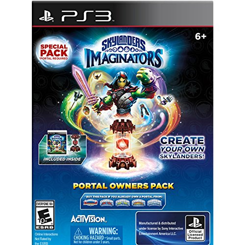Skylanders Imaginators Portal Owners Pack - Playstation 3 (PS3) (Skylanders Giant Portal Owner Wii compare prices)