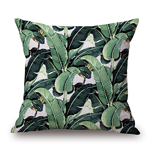Pillow Covers Of Plant,for Bedroom,dining Room,kitchen,floor,wedding,bar 20 X 20 Inches / 50 By 50 Cm(both Sides)