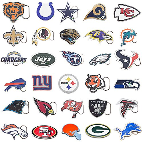 Officially-Licensed-NFL-Teams-Cut-Out-Belt-Buckles