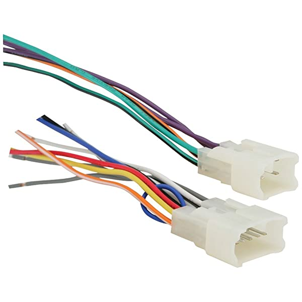 Metra 70-1761 Radio Wiring Harness For Toyota 87-Up Power 4 Speaker (Color: Multicolor, Tamaño: accessory)
