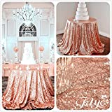Our TRLYC sequin tablecloth are made from some of the most high quality and premium calibre material you will find anywhere online. They are perfect for almost any event including weddings, holiday dinner parties, family gatherings, bridal sh...