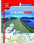 Europe 2015 A4 Spiral Atlas