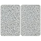 Wenko 30 x 4.5 x 52 cm Cover Plates for Cookers Universal Granite, Set of 2