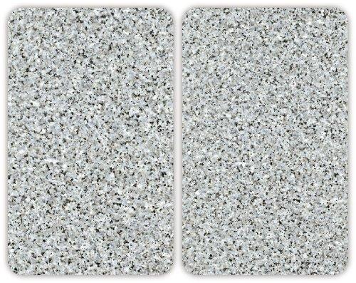Wenko 2521120100 coprifuochi vetro universale granite for Tipi di piani di casa
