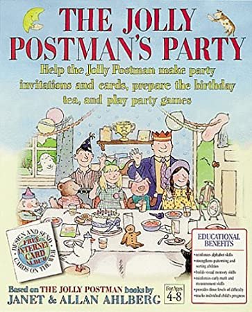The Jolly Postman's Party Ages 4-8