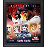 David Ortiz Boston Red Sox 2013 MLB World Series Champions Framed 15'' x 17'' Collage with Game-Used Baseball