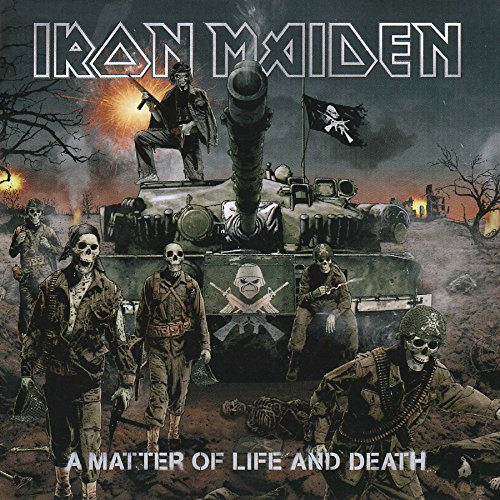 Vinilo : Iron Maiden - A Matter of Life and Death (180 Gram Vinyl, 2 Disc)