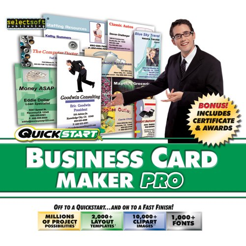 Quickstart: Business Card Maker Pro [Download] (Digital Juice Fonts compare prices)