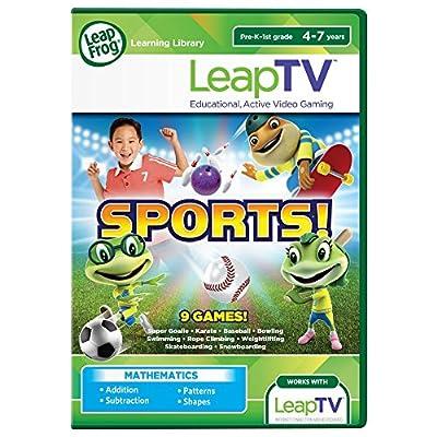 LeapFrog LeapTV Sports! Educational, Active Video Game from LeapFrog