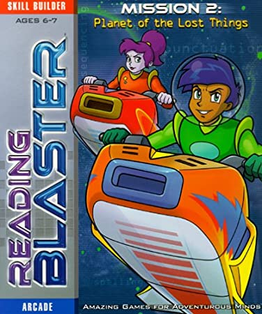 Reading Blaster Mission 2: Planet of the Lost Things (Ages 6-7)