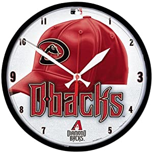 MLB Arizona Diamondbacks Round Clock by WinCraft